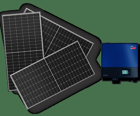 Πάνελ και inverter για τα net metering φωτοβολταϊκά της σειράς Elite