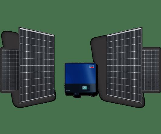 Πάνελ και inverter για τα net metering φωτοβολταϊκά της σειράς Premium