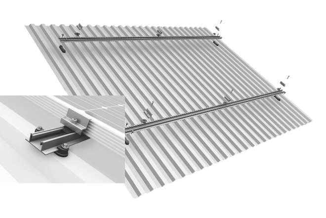 Φωτοβολταικα τιμες: Σύστημα βάσεων αλουμινίου K2 SpeedRail για τις net metering προσφορές